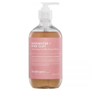 Rosewater + Pink Clay Cleansing Castile Hand Wash | 500ml