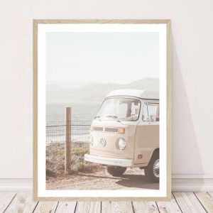 Rosie The Kombi | Art Print