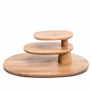 Rotating Tiered Serving Tray | Field designed by Helen Kontouris