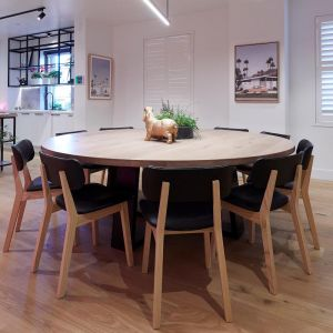 Round Dining Table by Christian Cole