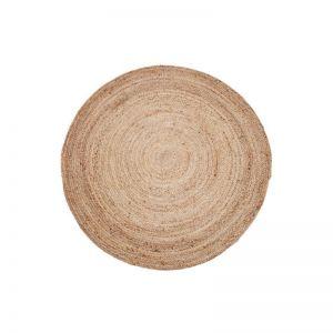 Round Jute Rug | Natural Fibre Decorative Floor Rug | Phoenix