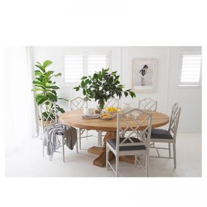 Round Newport Pedestal Dining Table
