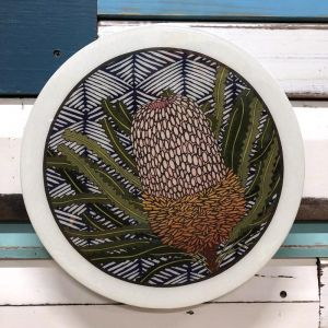 Roundy Woodblock | Banksia Hookeriana | Wall Hanging