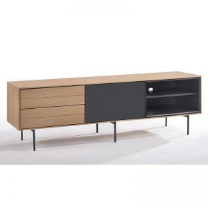 Roxi Entertainment TV Unit | White Oak | Modern Furniture