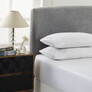 Royal Comfort 1500TC Cotton Rich 3-Piece Fitted Sheet Set - White