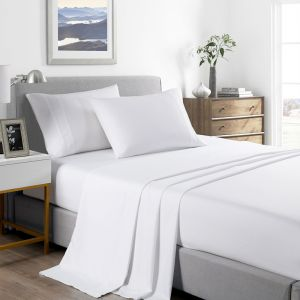 Royal Comfort 2000 Thread Count Bamboo Cooling Sheet Set - Queen - Various Colours