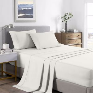 Royal Comfort Bamboo Cooling 2000TC Sheet Set | Various Colours and Sizes