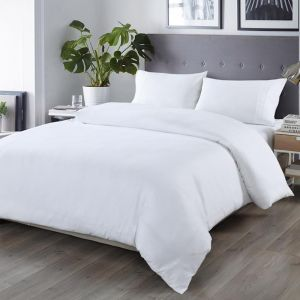 Royal Comfort Blended Bamboo Quilt Cover Set | White