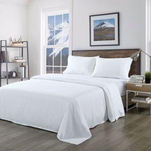 Royal Comfort Blended Bamboo Sheet Set | White | Various Sizes