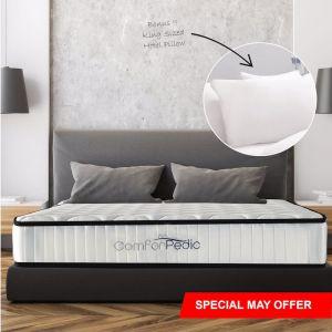 Royal Comfort Comforpedic 5 Zone Mattress In a Box | Various Sizes