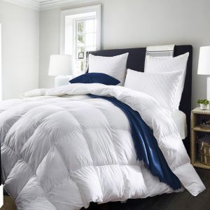 Royal Comfort Deluxe 500GSM Goose Feather and Down Quilt | Various Sizes