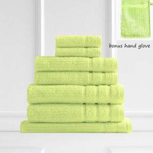 Royal Comfort Eden 600GSM 100% Egyptian Cotton 8 Piece Towel Pack | Spearmint