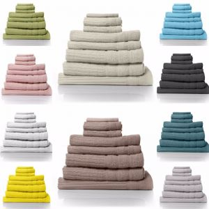 Royal Comfort Eden Egyptian Cotton 600 GSM Towel Pack 8 Piece