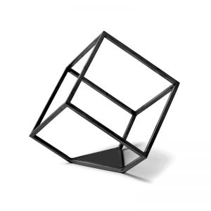 Rubix Line Wall Sculpture | Black