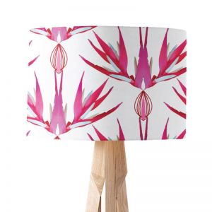 Ruby-Flower | Paper Lampshade | Various Sizes | Amba Florette
