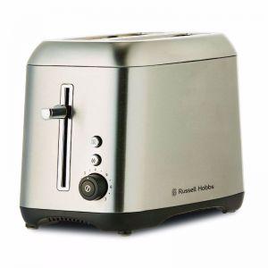 Russell Hobbs RHT82BRU Carlton 2 Slice Toaster Brushed Stainless Steel