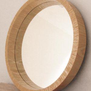 Rustic Circular Mirror