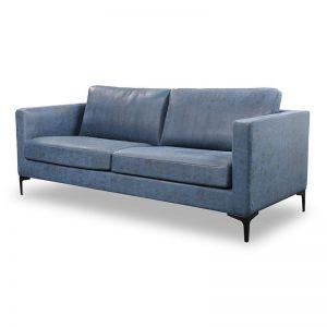 RYLAN 3 Seater Sofa - Blue