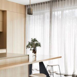 S-Fold Sheer Curtains | Track Included | All Sizes | Custom Made by Martini Furniture
