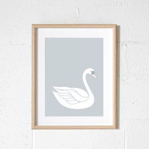Sadie Swan Art Print