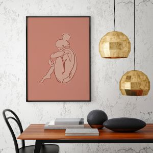 Safe Haven | Nude Art Print | Framed or Unframed