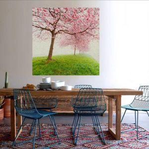 Sakura Fog | Framed or Canvas Print | by Artscope
