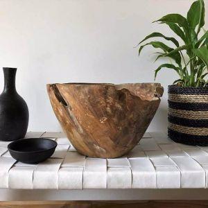 Salad Bowl in Black or Natural by SATARA