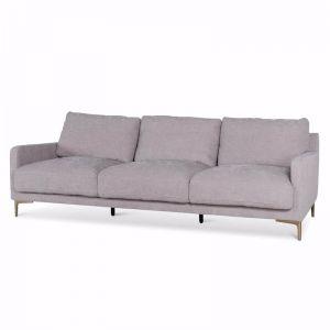 Salazar 4 Seater Fabric Sofa | Oyster Beige