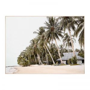 Salvador Beach   Framed Canvas Art