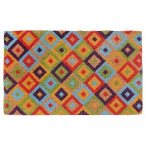 Saman Multicolour | 100% Coir Doormat | Various Sizes