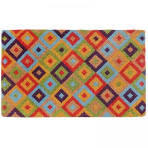 Saman Multicolour Doormat | 100% Coir