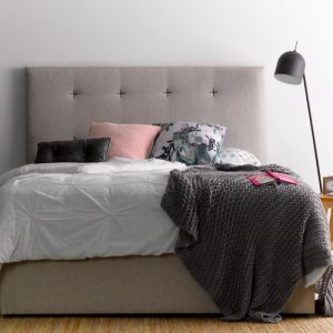 Samantha's sand bedhead | White Stitch | by Billy's Beds