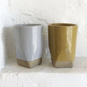Sander Faceted Dipped Tumbler