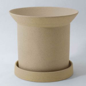 Sandstone Plant Pot Large Buff