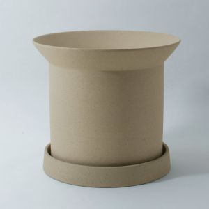 Sandstone Plant Pot Small Buff