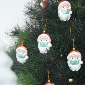 Santa Mask Ornament | 6-Pack (Pre-Order NOV 29th)