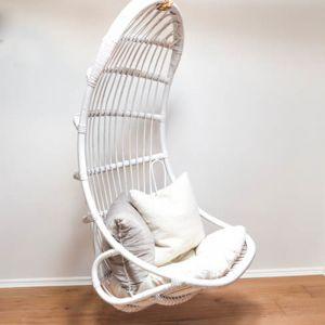 Santorini Hanging Chair   White
