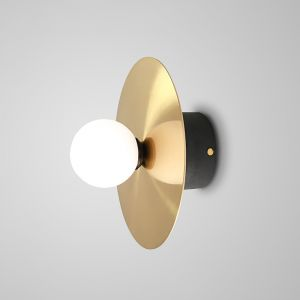 Saturn Disc & Sphere Wall Sconce or Ceiling Light Art Décor