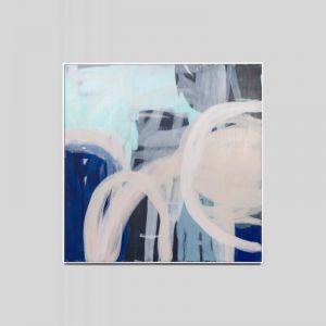 Sawyer | Handpainted Framed Artwork