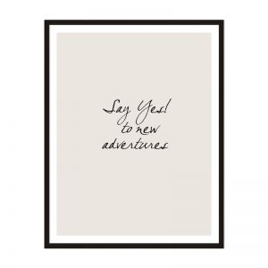 Say Yes   Framed Print   Artefocus