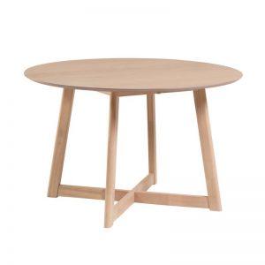 Sayse Table |Oak Finish
