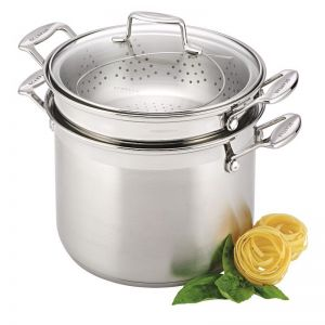 Scanpan Impact 24cm Stainless Steel Multi Pot Set