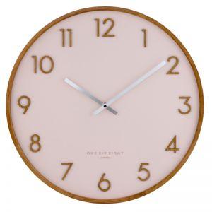 Scarlett -  35cm Blush Silent Wall Clock