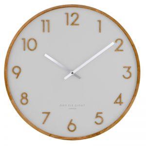 Scarlett -  50cm Cool Grey Wall Clock