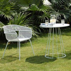 Scoop Patio Chair | CLU Living | Black