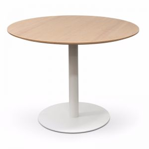 Scope Round Office Meeting Table | Natural