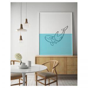 Sea Assassin   Killer Whale Art Print   Framed or Unframed