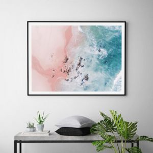 Sea Bliss by Ingrid Beddoes | Unframed Art Print