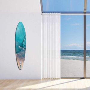 Sea By Satellite | Arcylic Board By United Interiors