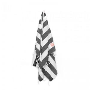 SEA Hand & Kitchen Towel Set Of 2 | Black & White
